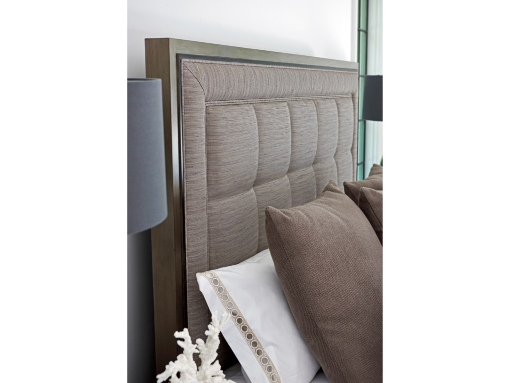 Lexington ArianaSt. Tropez Upholstered Panel Bed 5/0 Queen