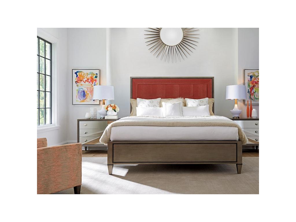 Lexington ArianaSt. Tropez 5/0 Custom Uph Panel Bed