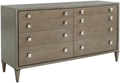 Lexington Ariana Touraine Eight Drawer Dresser