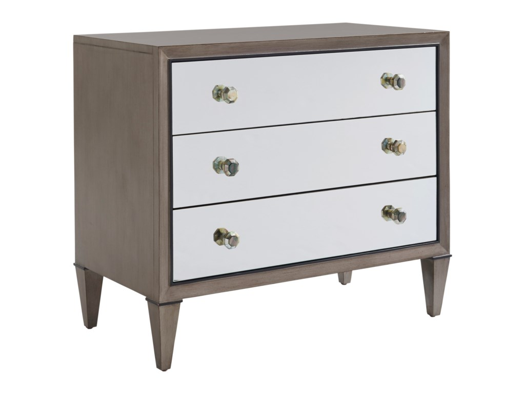 Lexington ArianaDivonne Mirrored Nightstand