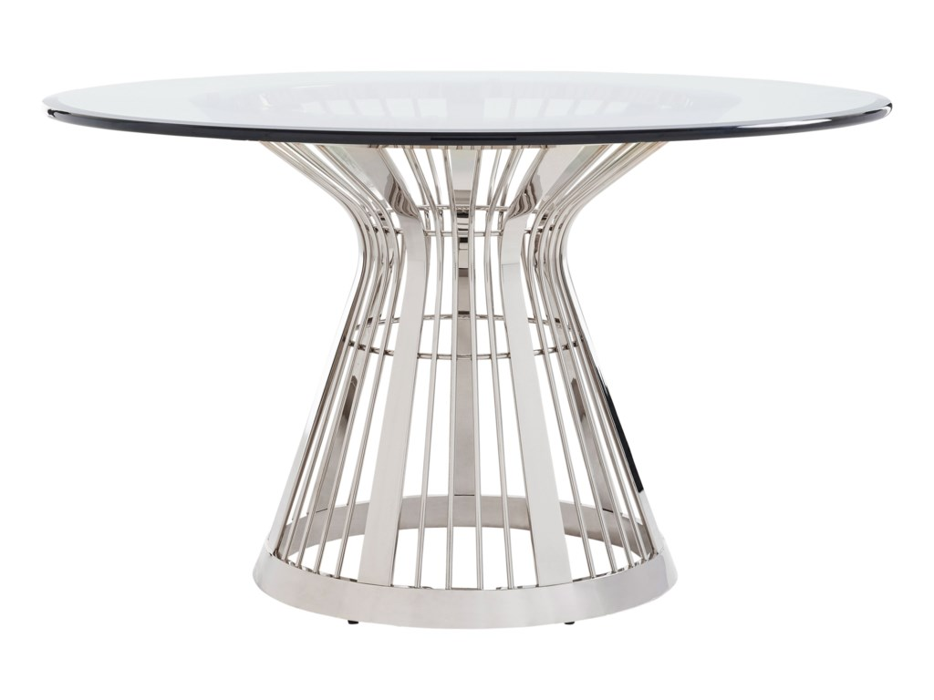 Lexington ArianaRiviera Stainless Dining Table Base With 54