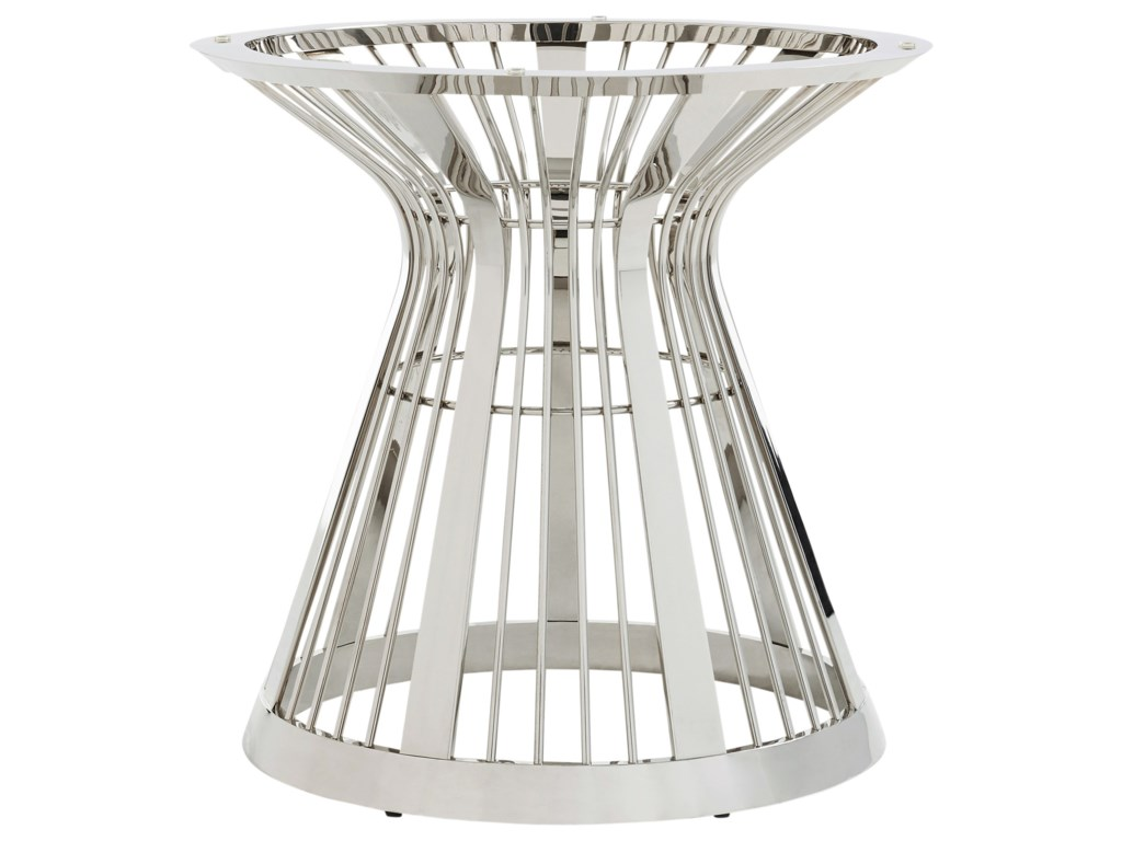 Lexington ArianaRiviera Stainless Dining Table Base With 60