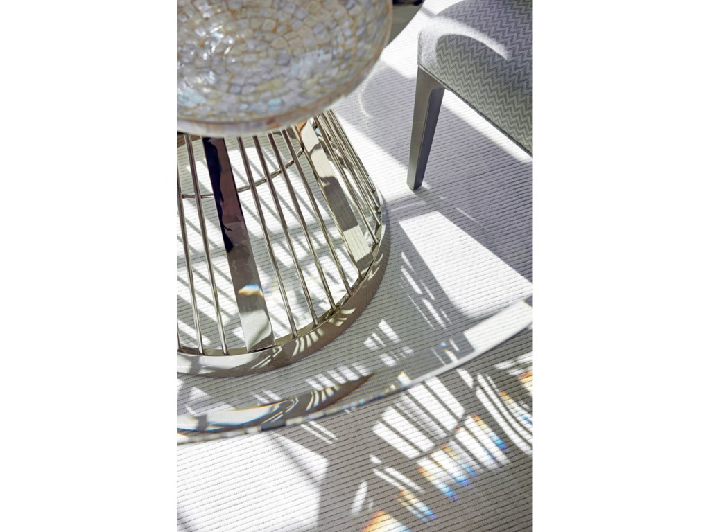 Lexington ArianaRiviera Stainless Dining Table With 72 Inch