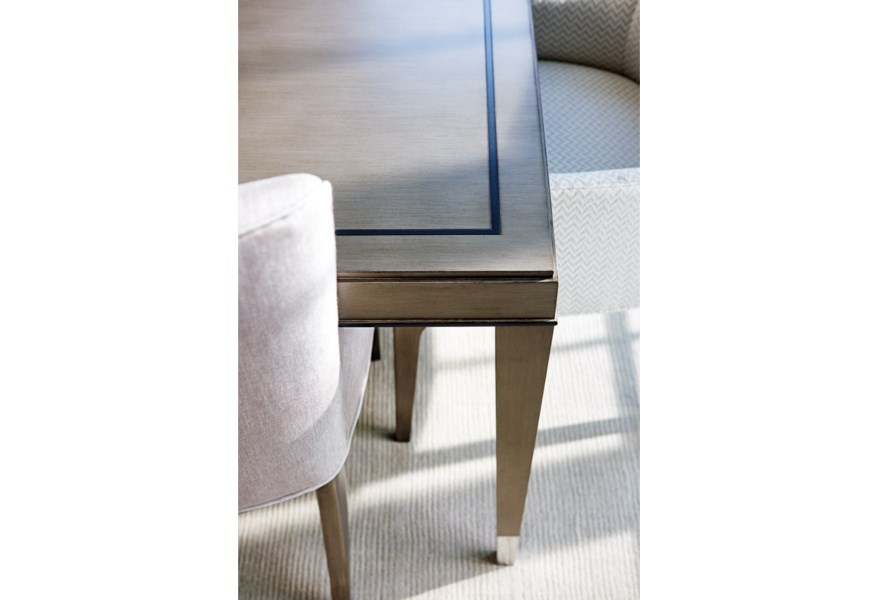 Lexington Ariana Chateau Rectangular Dining Table With Table Extension Leaves Belfort Furniture Dining Tables