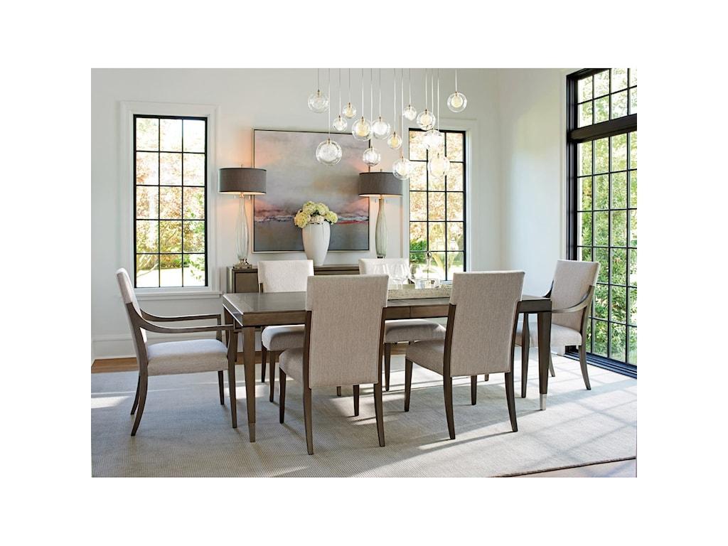 Lexington ArianaChateau Rectangular Dining Table