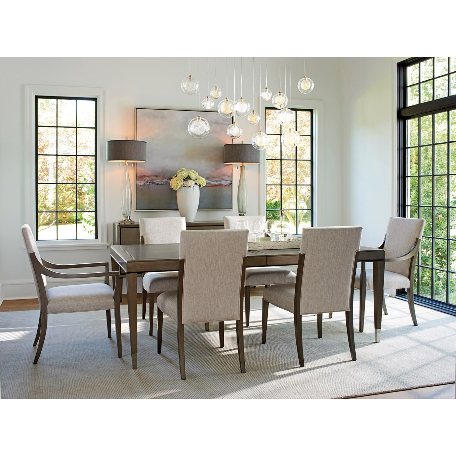 Superbe Ariana Chateau Rectangular Dining Table With Table Extension Leaves By  Lexington At Baeru0027s Furniture