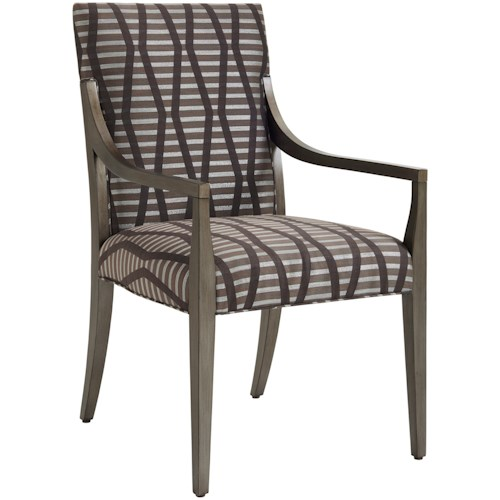Lexington Ariana Saverne Custom Upholstered Arm Chair