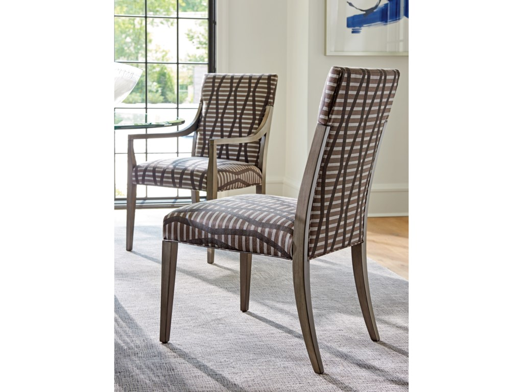 Lexington ArianaSaverne Upholstered Arm Chair