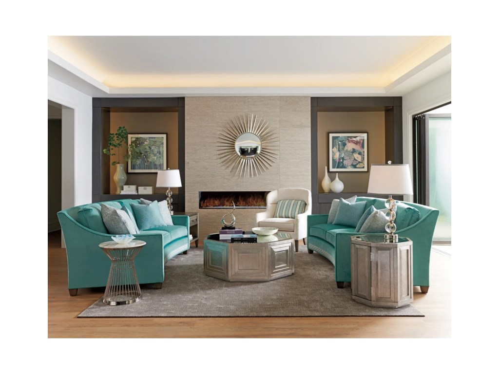 Lexington ArianaMartini Stainless Accent Table