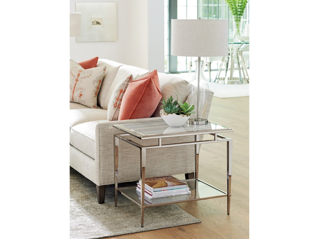 Lexington ArianaAthene Stainless End Table