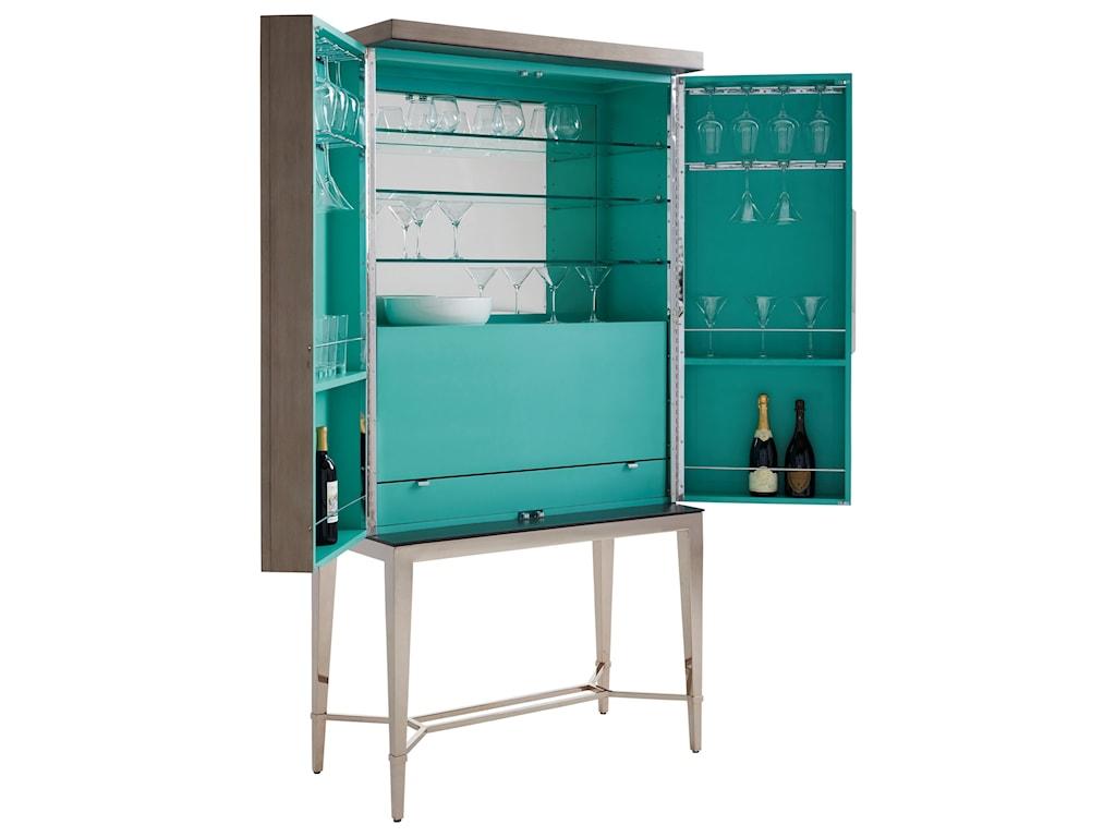 Lexington ArianaCheval Bar Cabinet