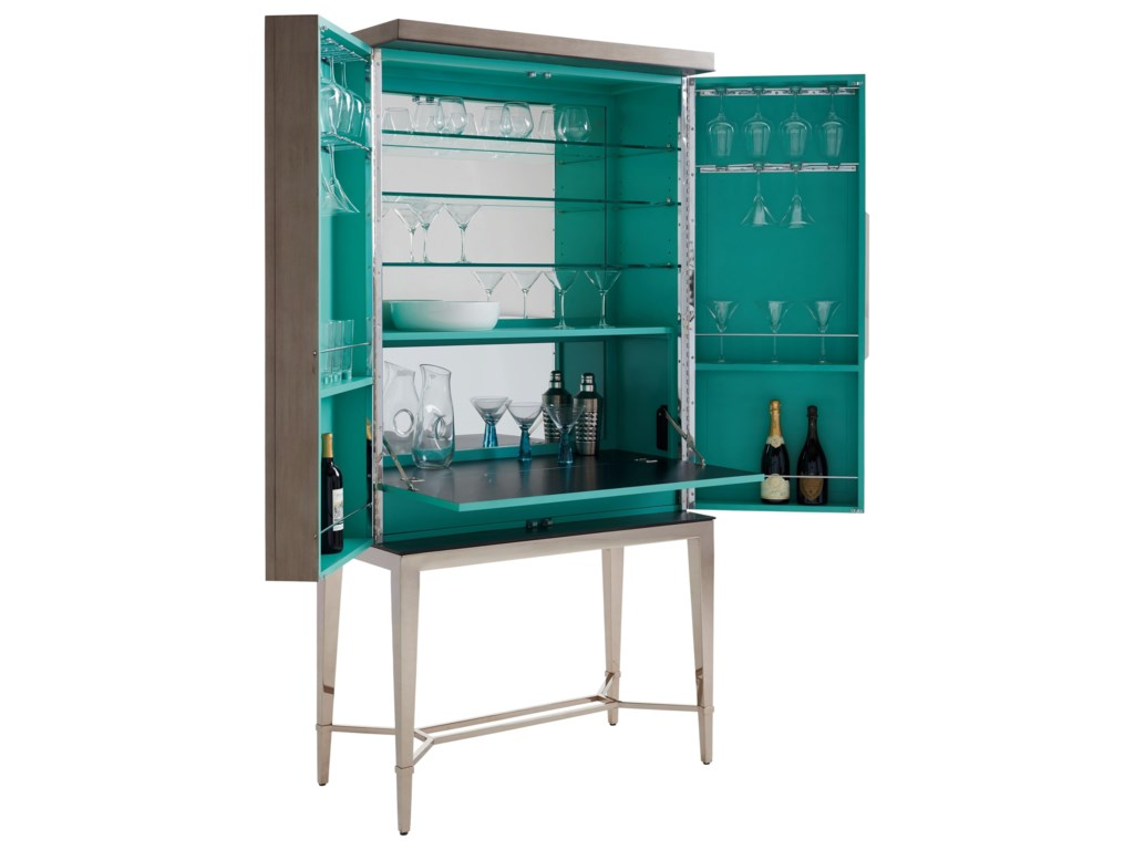 Lexington ArianaCheval Bar Cabinet