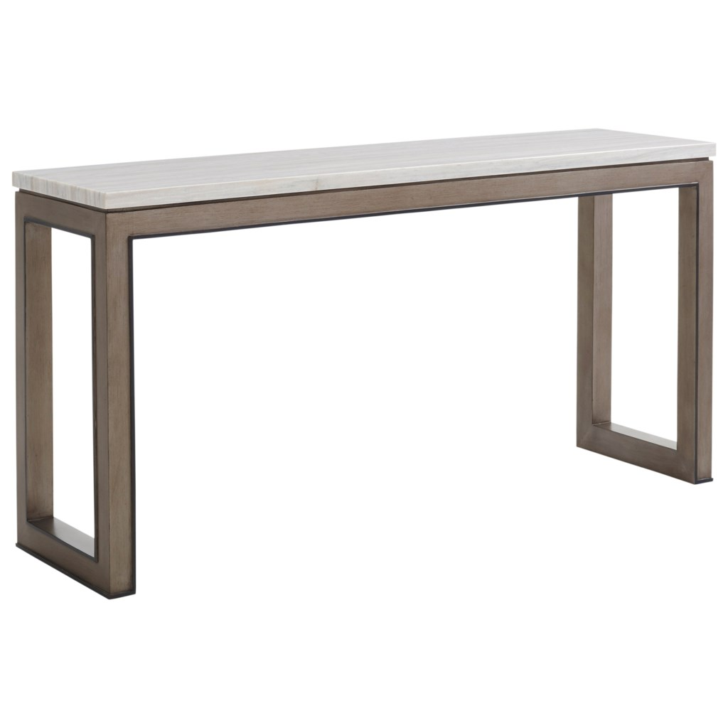 Lexington Ariana 732 966 Vernay Console Table With Marble Top