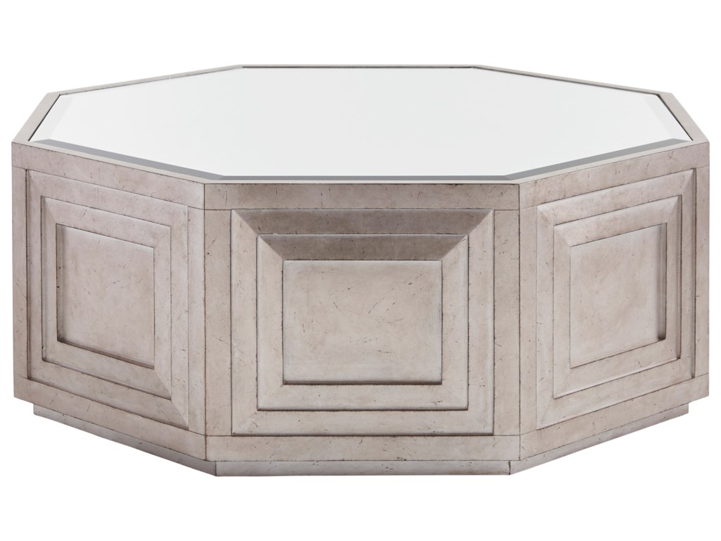 Lexington ArianaRochelle Octagonal Cocktail Table