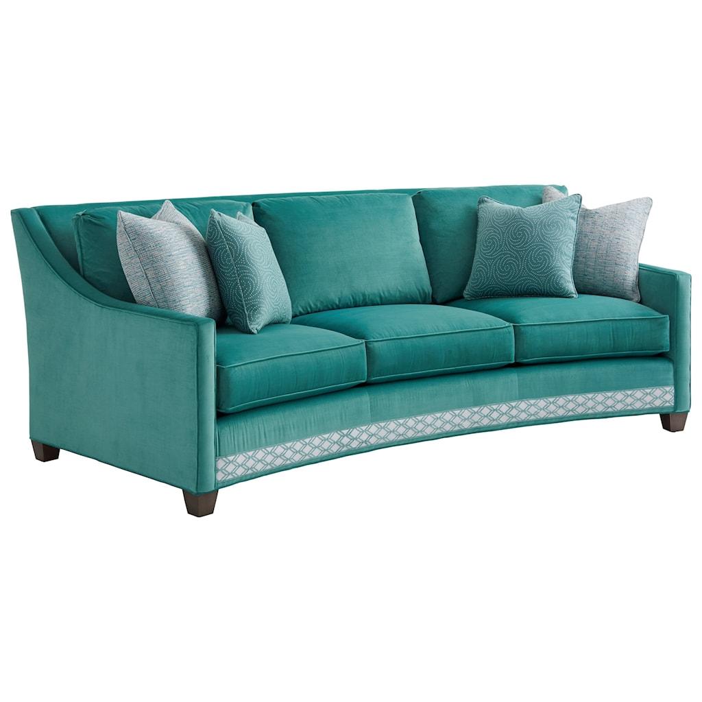 Lexington Ariana Valenza Curved Sofa Baer s Furniture