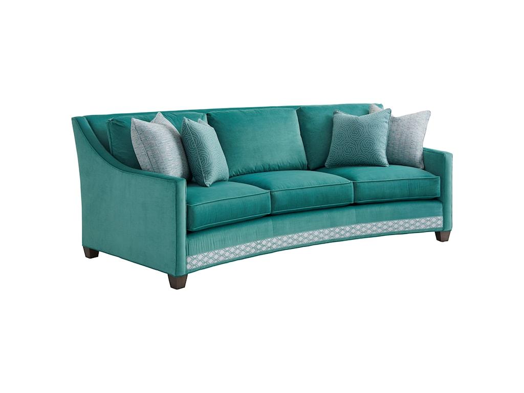 Lexington ArianaValenza Curved Sofa