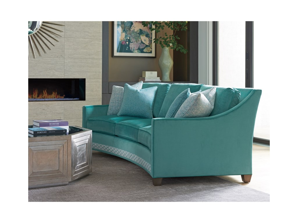 Lexington ArianaValenza Curved Sofa