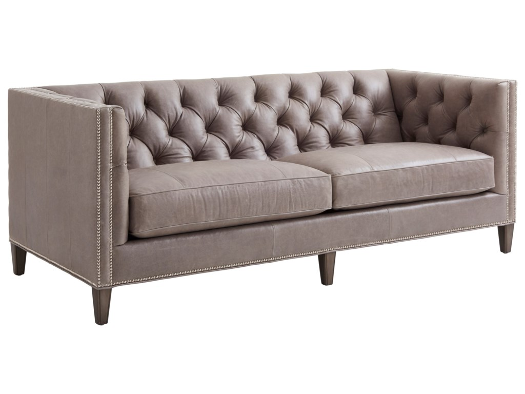 Lexington Ariana Camille Tufted Tuxedo Sofa Fisher Home