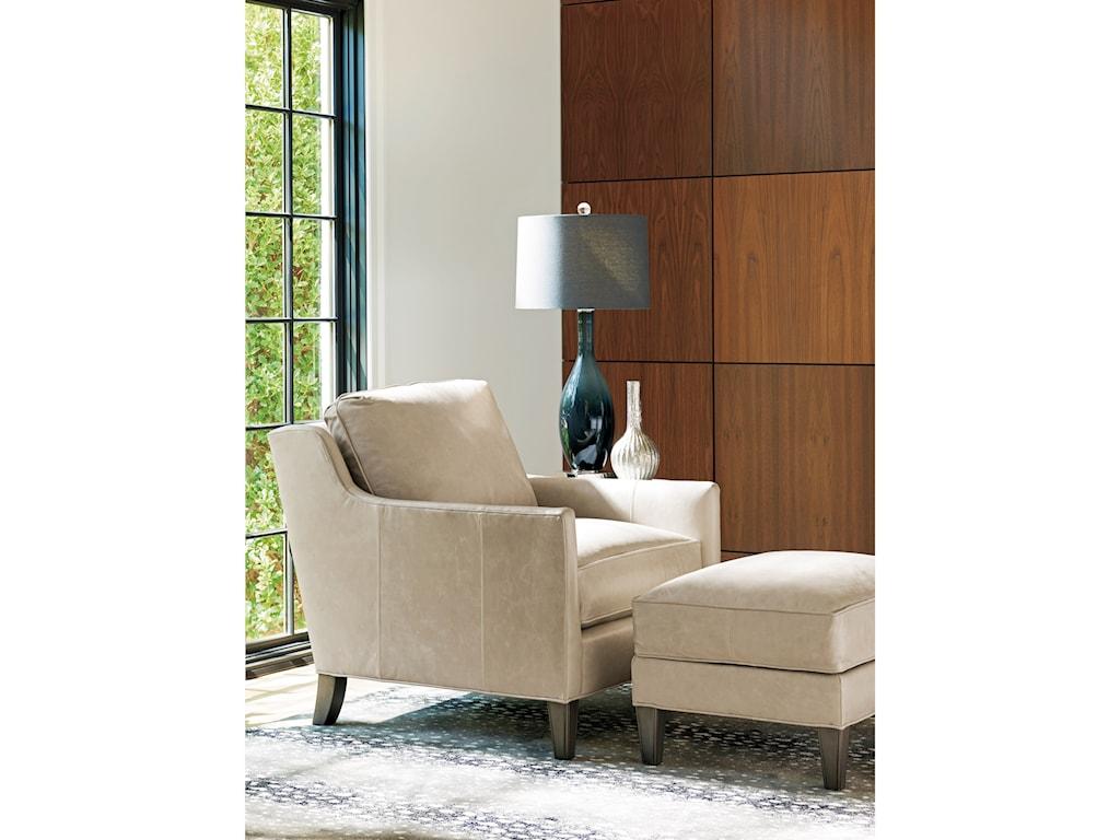 Lexington ArianaTurin Chair & Ottoman