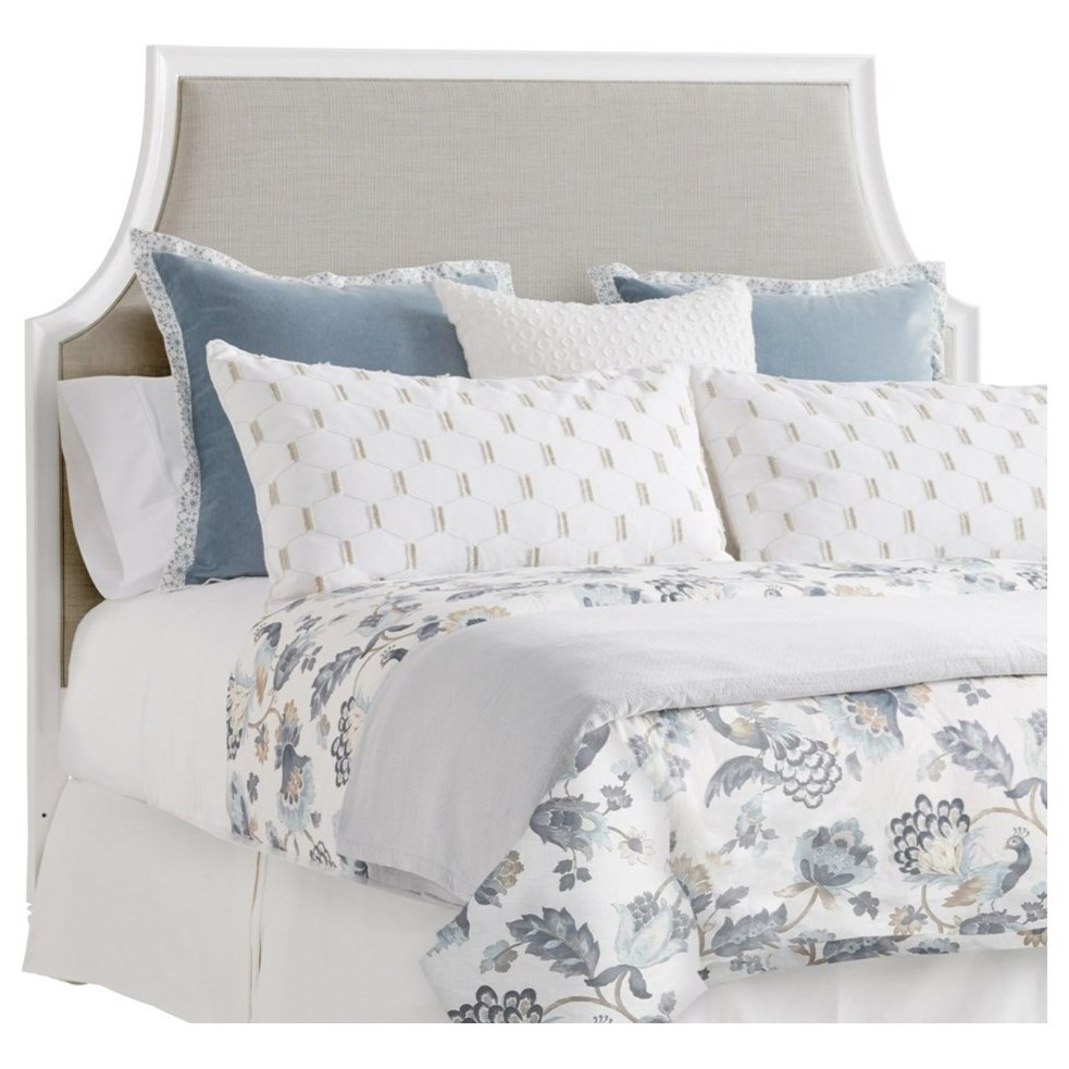 Inverness Queen Upholstered Headboard  with Custom Fabric