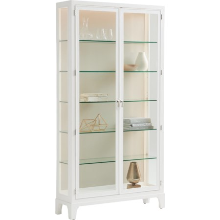 Lakeshore Curio Taupe Back Panel
