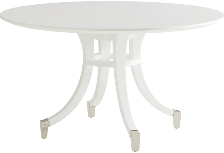 Lexington Avondale 415 875c Lombard Round Dining Table With 60 Inch Top Baer S Furniture Dining Tables