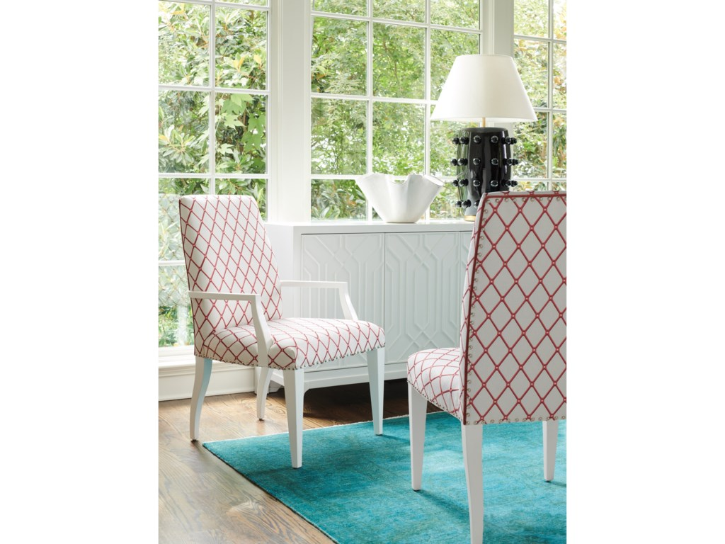 Lexington AvondaleDarien Upholstered Arm Chair - Custom