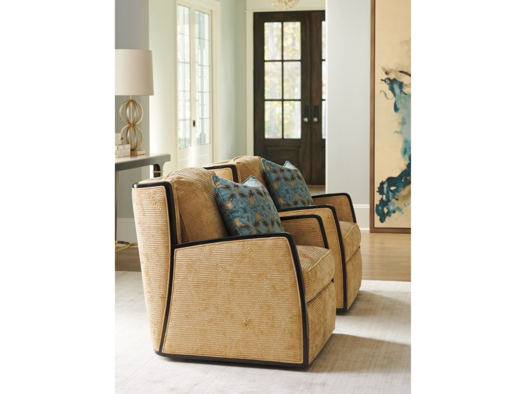 Lexington CarlyleDelancey Swivel Chair