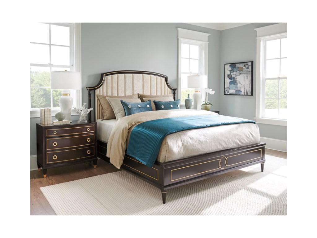 Lexington CarlyleRegency Upholstered Bed 5/0 Queen