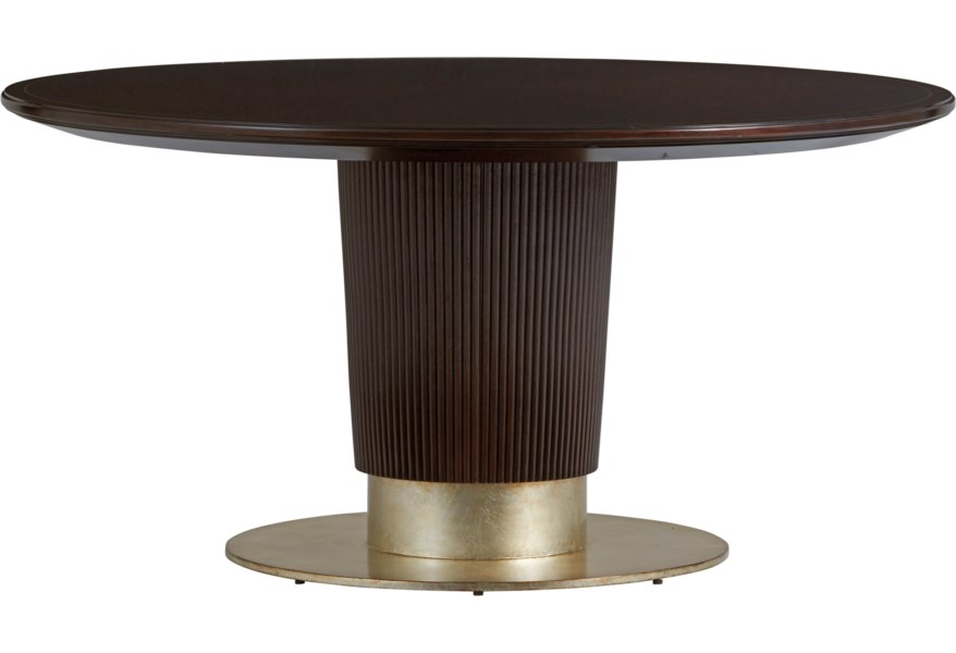 Lexington Carlyle Waldorf 32 Inch Round Dining Table Belfort Furniture Dining Tables