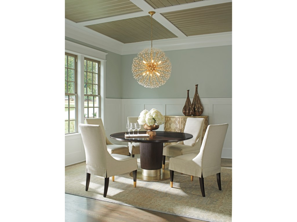 Lexington CarlyleWaldorf Round Dining Table