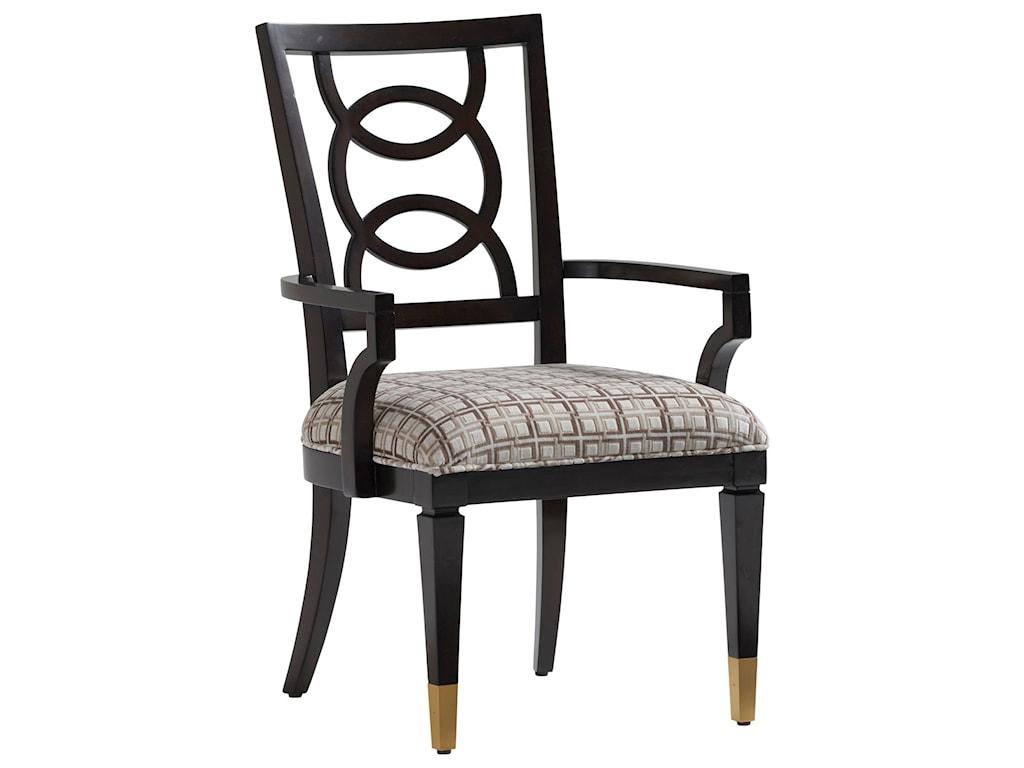Lexington CarlylePierce Upholstered Arm Chair - Custom