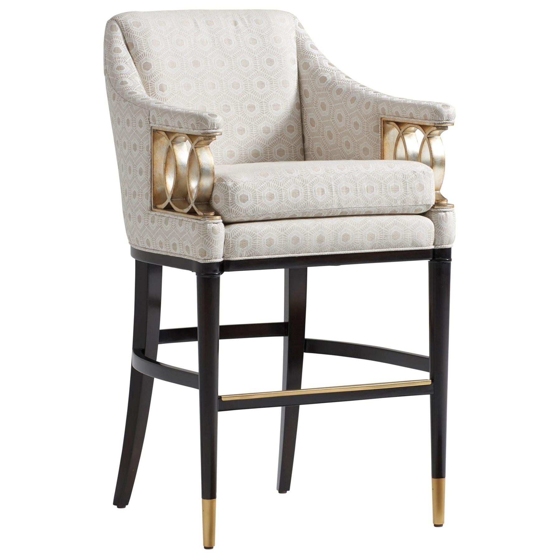 Lexington CarlyleHemsley Upholstered Bar Stool   Custom ...