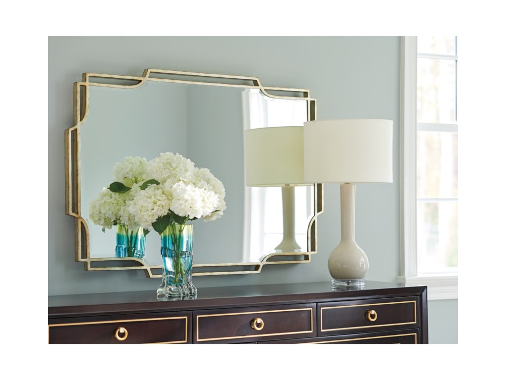 Lexington CarlyleHarwood Metal Mirror