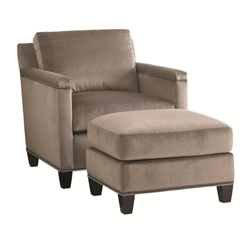 Lexington Carrera Strada Chair and Ottoman Set