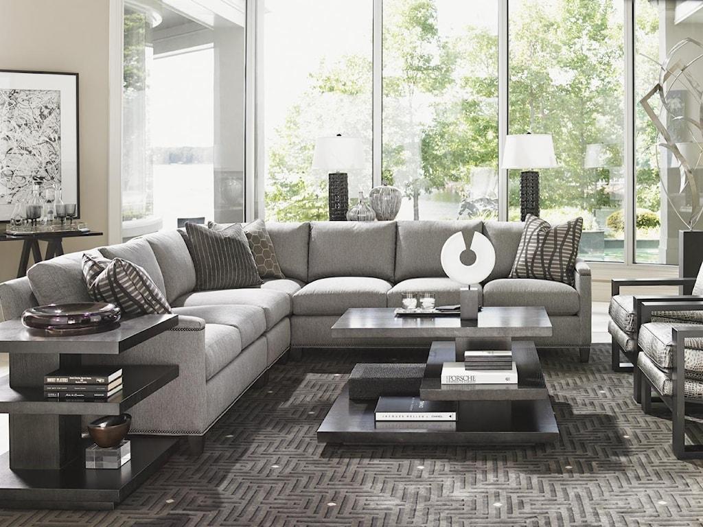 Lexington Carrera4 Pc Sectional Sofa