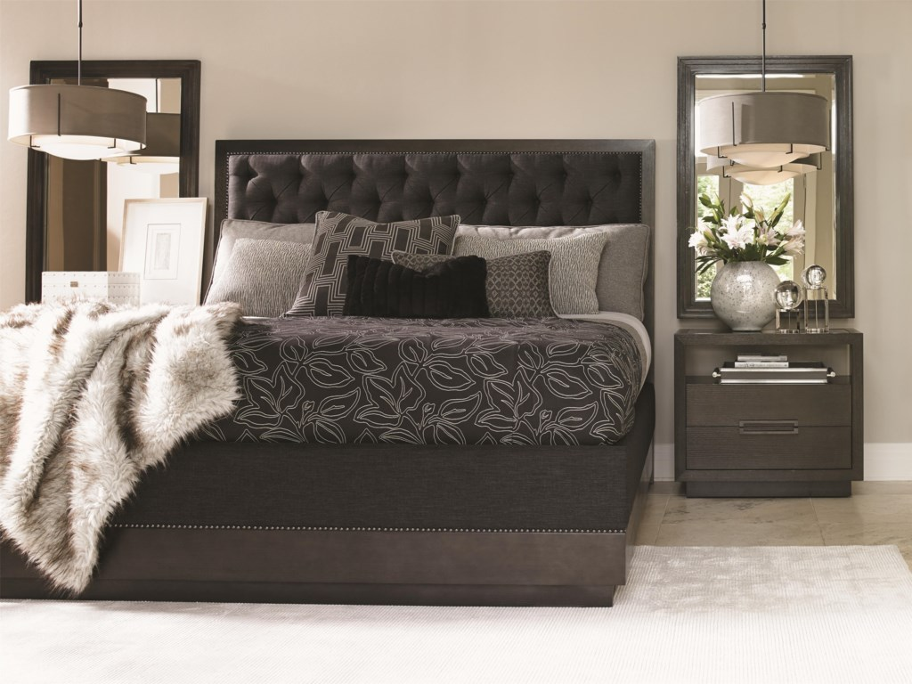 Lexington CarreraComplete 5/0 Maranello Upholstered Bed