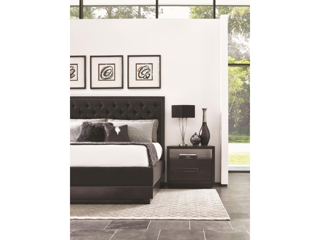 Lexington CarreraComplete 6/6 Maranello Upholstered Bed