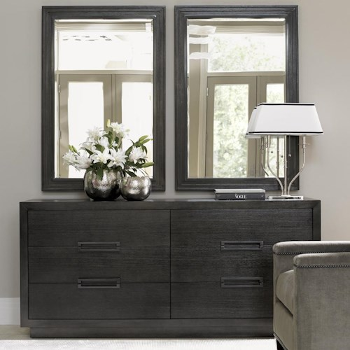 Lexington Carrera Cayman Double Dresser and Volante Mirror Set