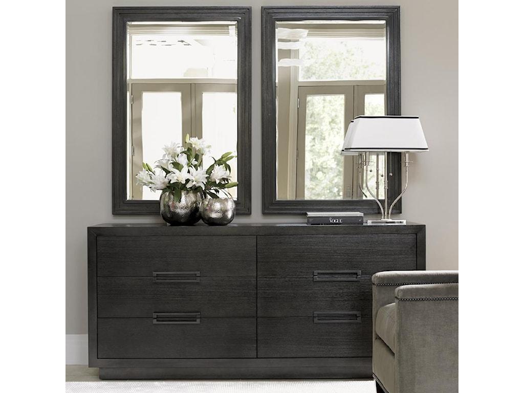 Lexington CarreraDresser and Mirror Set