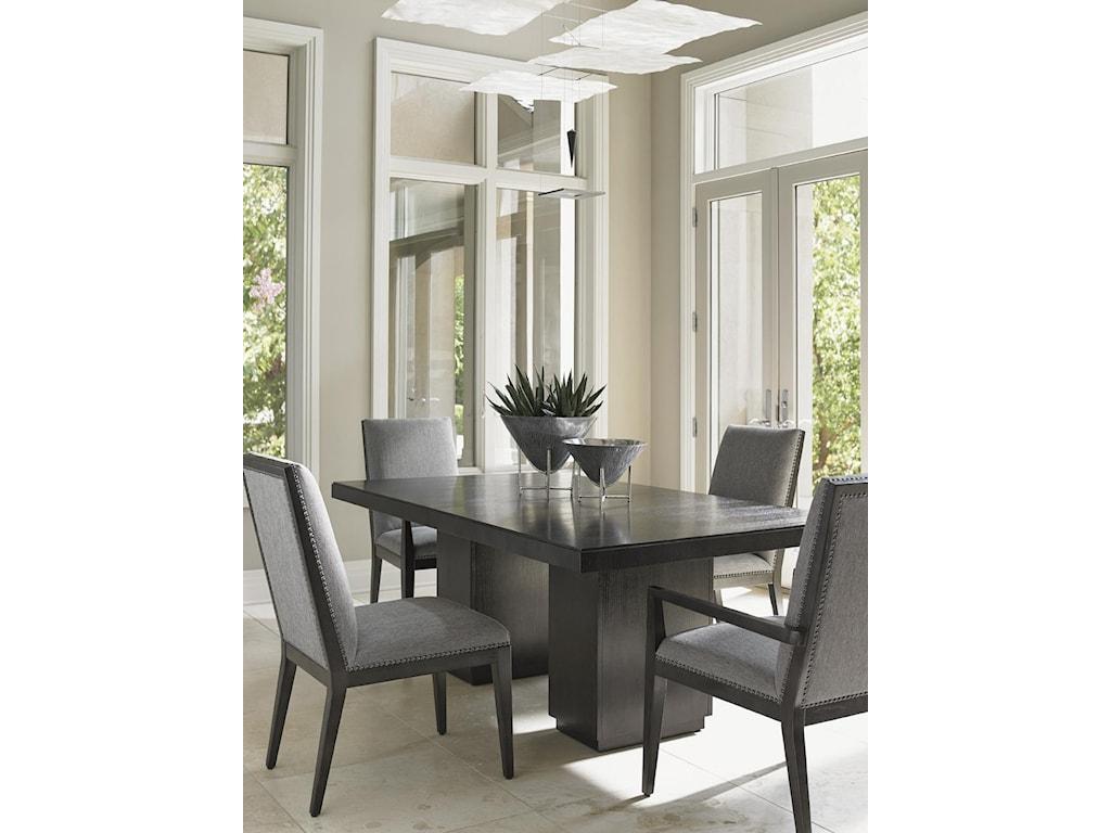 Lexington CarreraModena Double Pedestal Dining Table