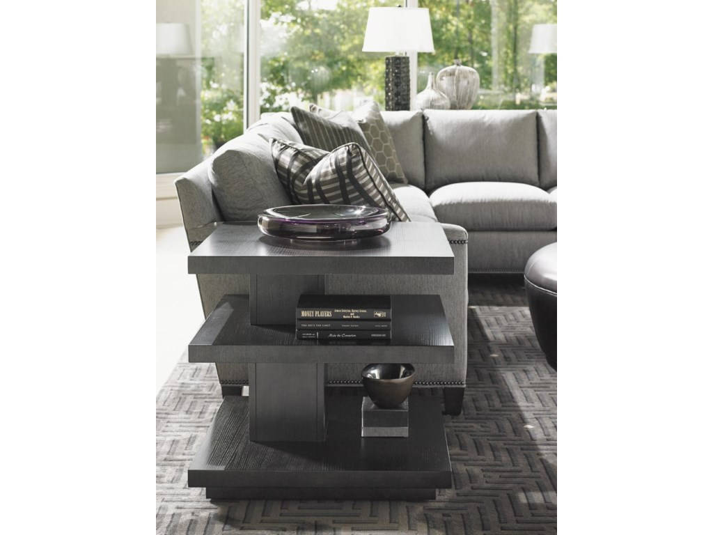 Lexington CarreraEllena Square End Table