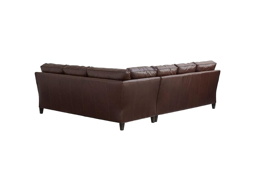 Lexington Couture Leather Brayden Customizable 5-Seat ...