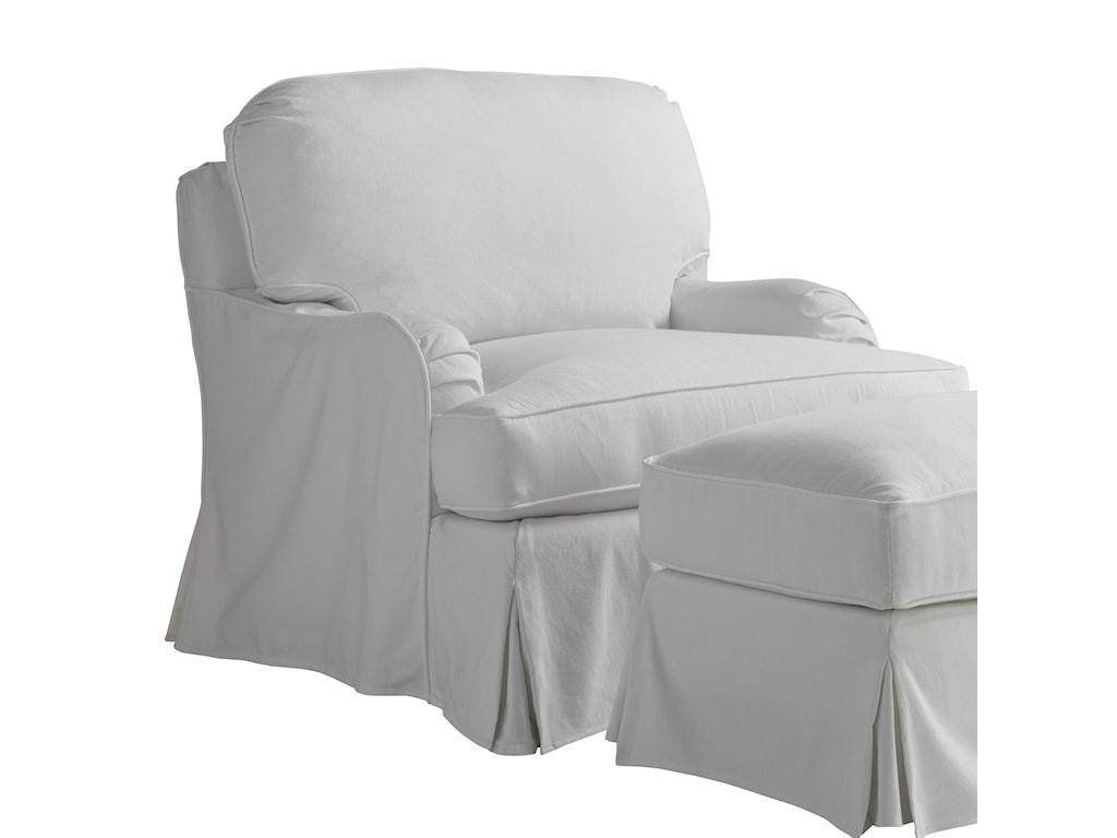 Lexington Coventry HillsStowe Slipcover Swivel Chair