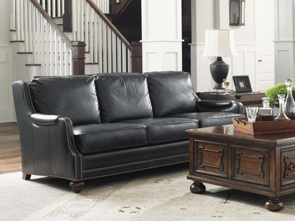 Lexington Coventry HillsAlcot Leather Sofa