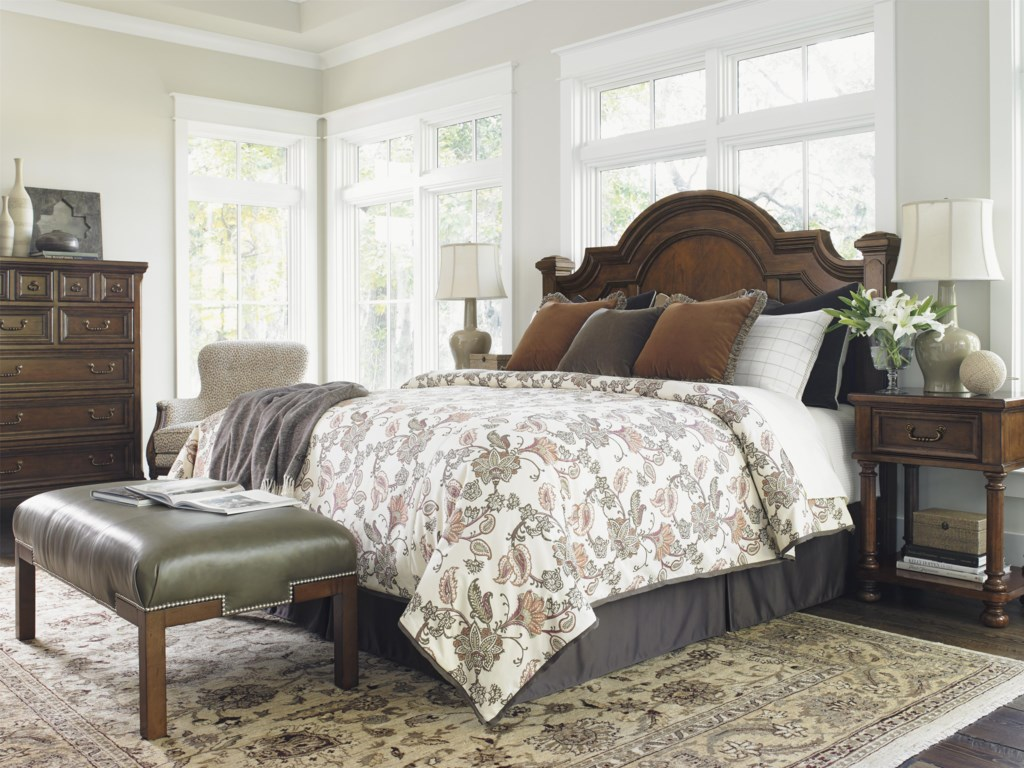 Lexington Coventry HillsQueen Roxbury Panel Bed Headboard