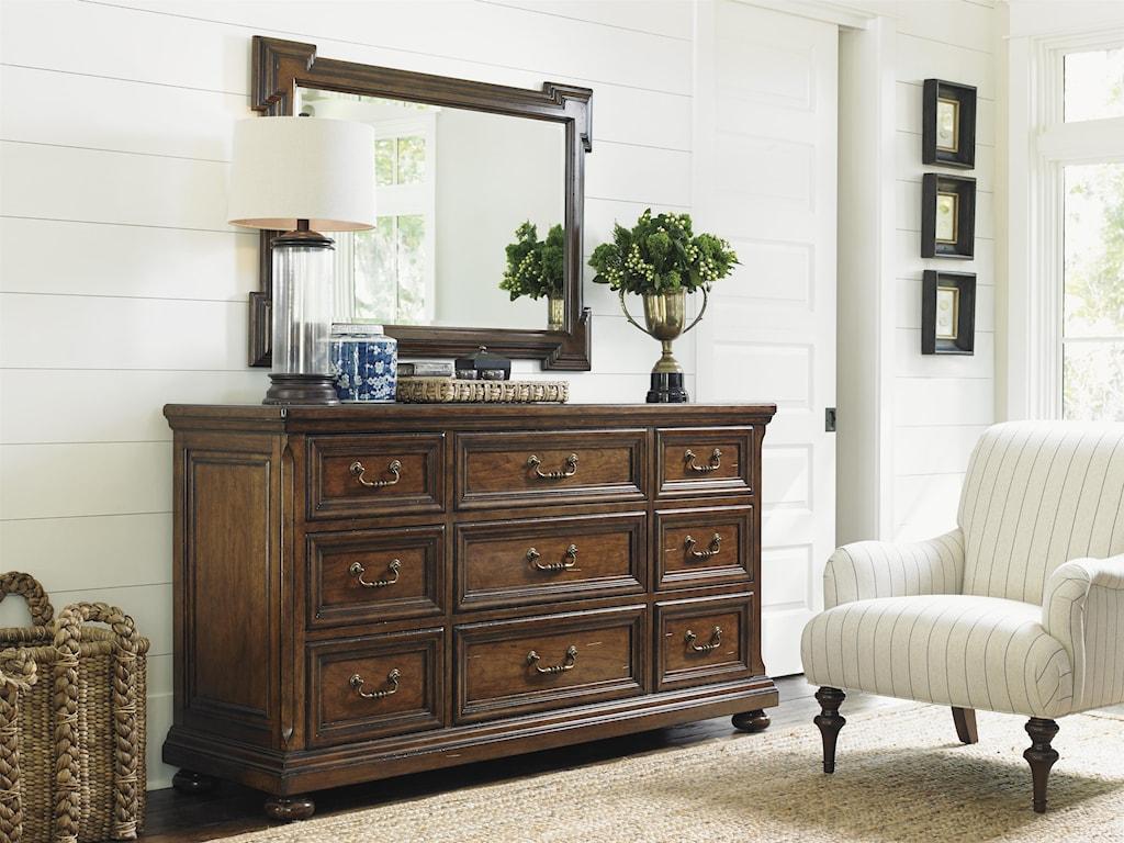 Lexington Coventry HillsGrayson Triple Dresser