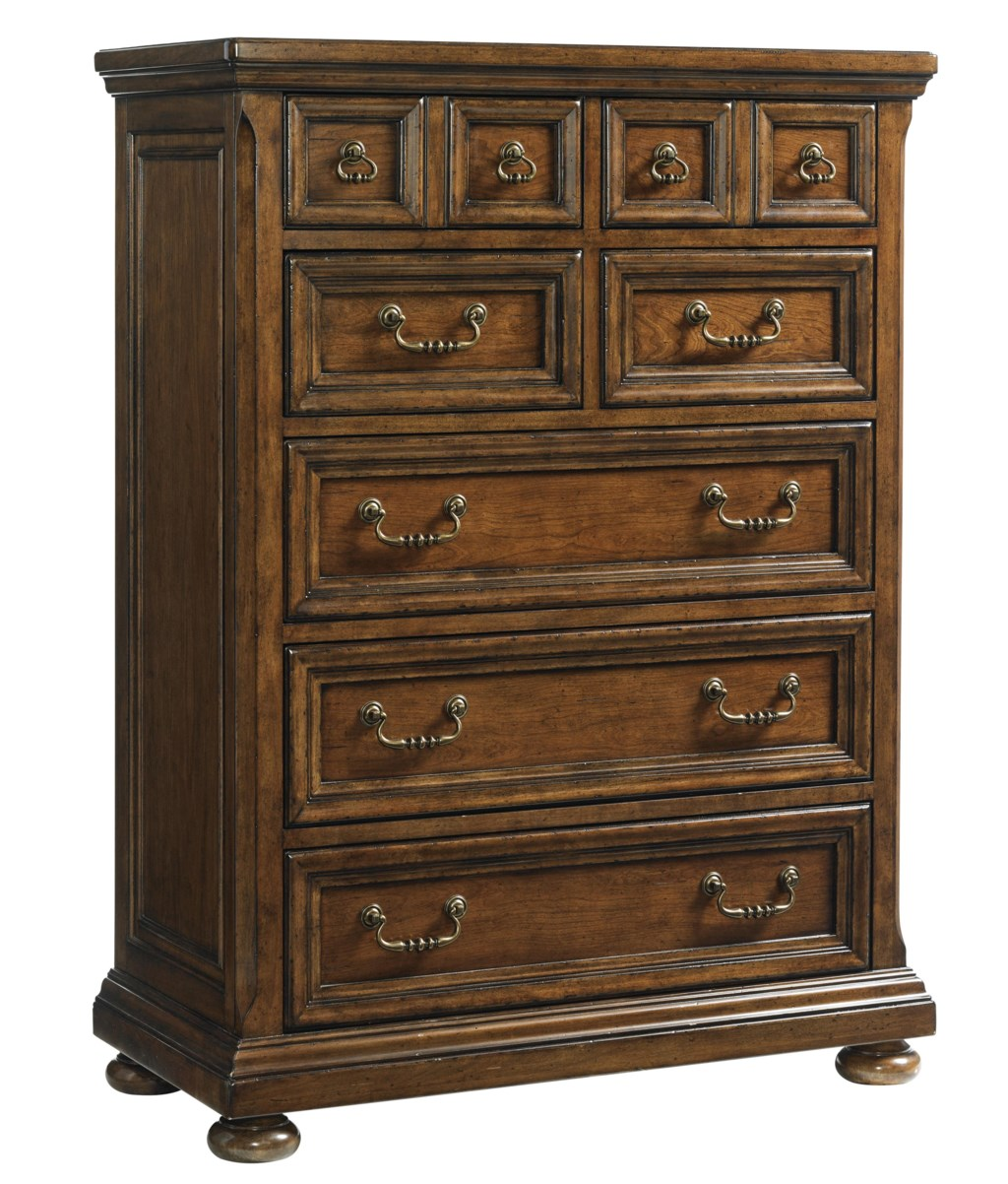 Coventry Hills Ellington Seven Drawer Chest With Traditional Bail Pull Hardware By Lexington
