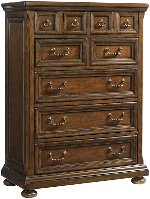 Lexington Coventry Hills Ellington Seven Drawer Chest with Traditional Bail Pull Hardware