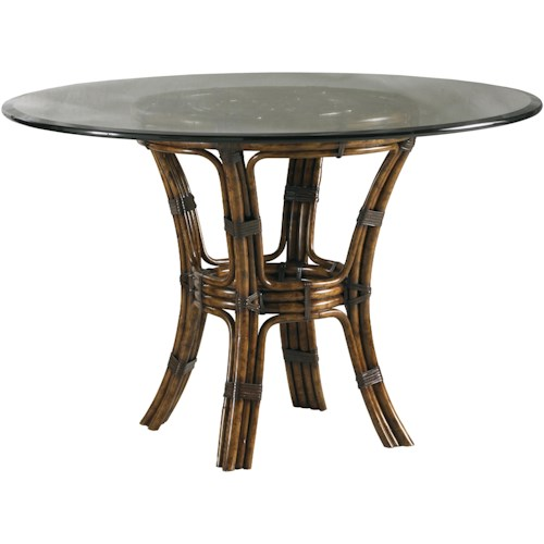 Lexington Henry Link Trading Co Barbosa Dining Table With Inch - 54 inch glass top round dining table